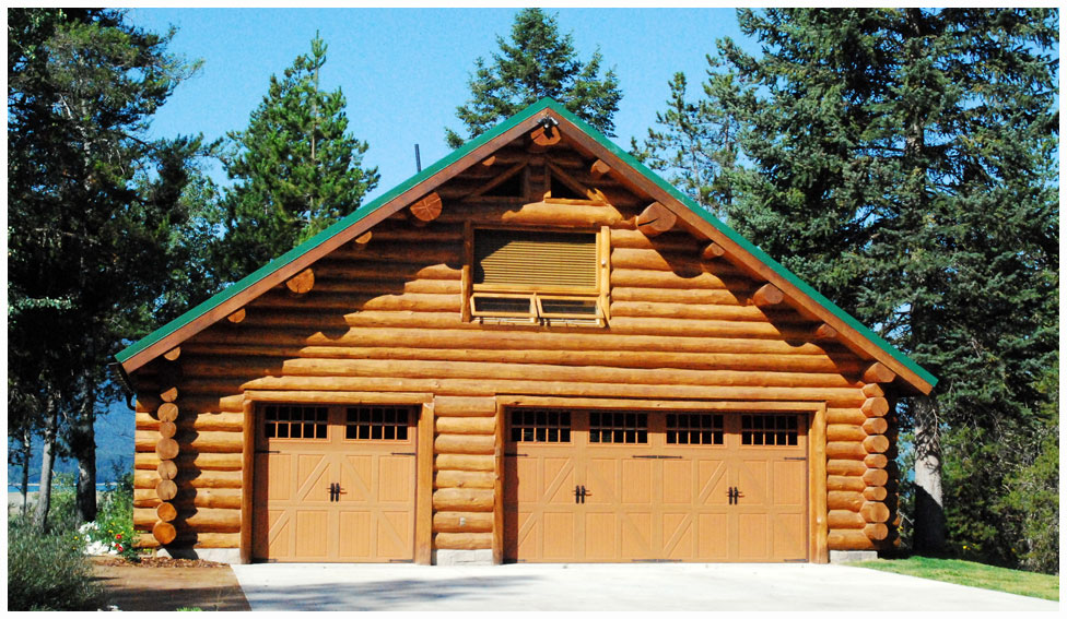 Wyoming shangri la ranch near jackson hole wyoming is a for Garage with loft for sale